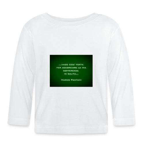 Citazione - Maglietta a manica lunga per bambini