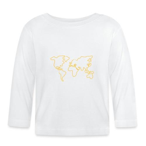 Wereldkaart - T-shirt