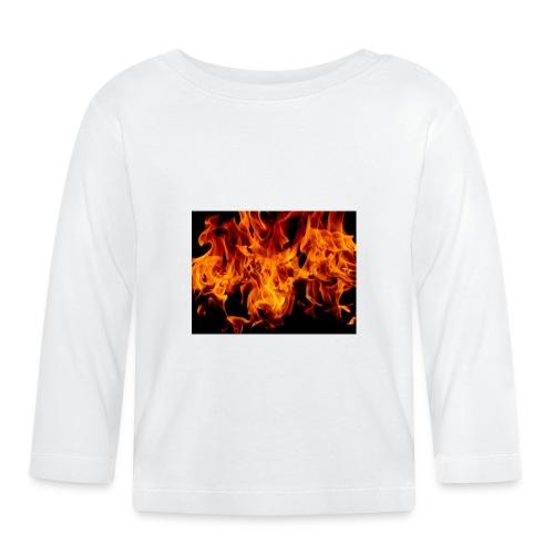 Fiamme1-jpg - Maglietta a manica lunga per bambini