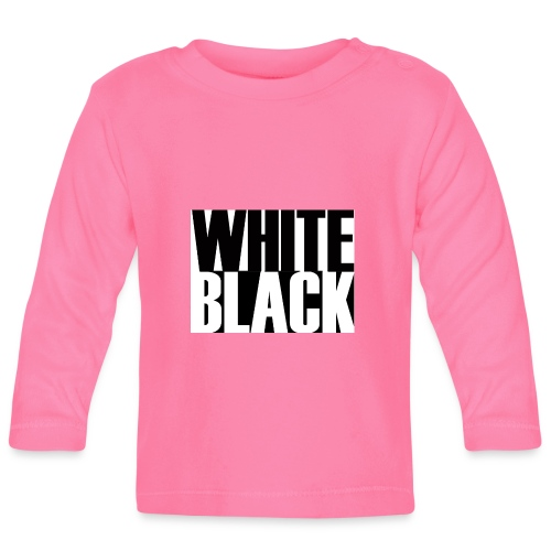 White, Black T-shirt - T-shirt