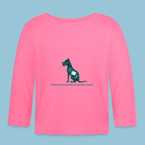 T-shirt pour homme imprimé Chien au Rayon-X - T-shirt manches longues Bébé