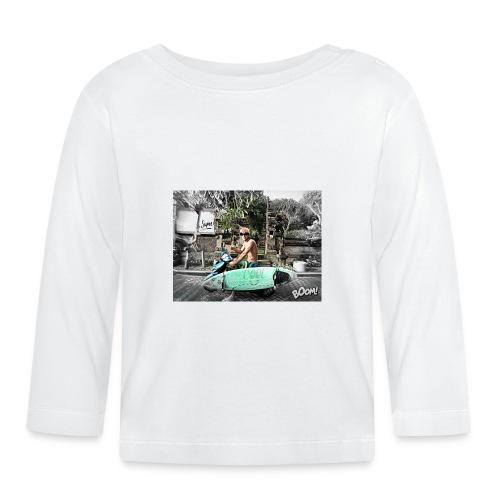 bali - Camiseta manga larga bebé