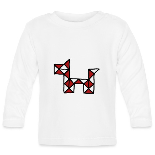 Dog pet twist puzzle toy best friend - Baby Long Sleeve T-Shirt