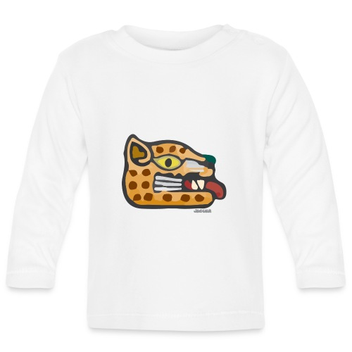 Aztec Icon Jaguar - Baby Long Sleeve T-Shirt