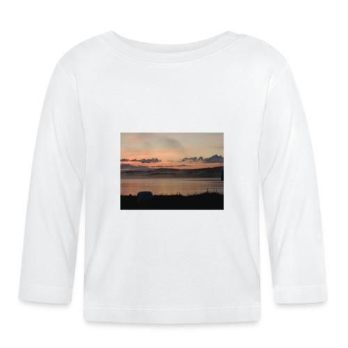 Himmel i Tornedalen - Långärmad T-shirt baby