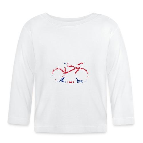 GB Cycling Chain Print - Baby Long Sleeve T-Shirt
