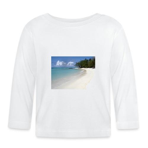 plage-ile-maurice - T-shirt manches longues Bébé