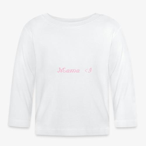Mama - Baby Langarmshirt