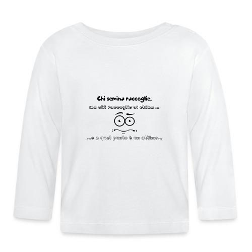 Citazione del giorno - Maglietta a manica lunga per bambini
