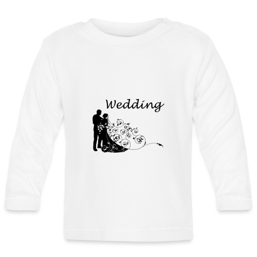 wedding - T-shirt manches longues Bébé