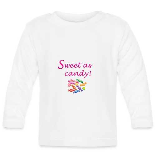 Sweet-candy - T-shirt manches longues Bébé