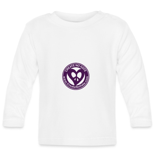 CreateNoHate Logo - Baby Long Sleeve T-Shirt
