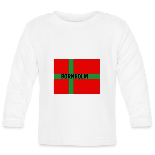 BORNHOLM - Langærmet babyshirt