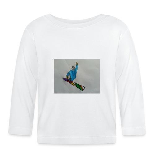 snowboard - Maglietta a manica lunga per bambini