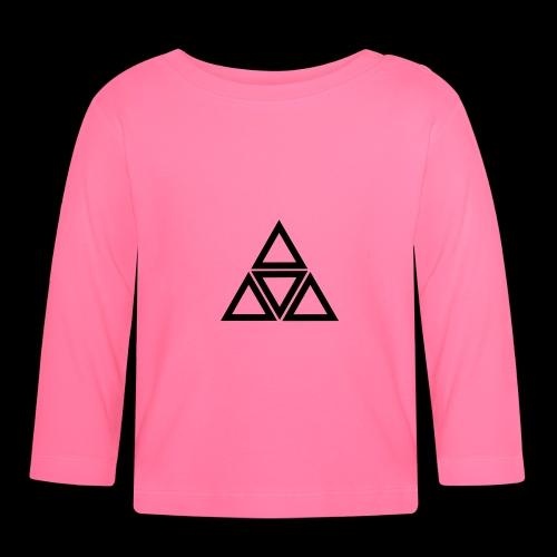 triangle - Maglietta a manica lunga per bambini