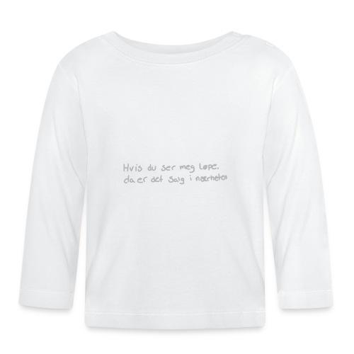 Salg løpe - Langarmet baby-T-skjorte