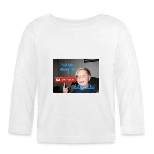 deksler - Langarmet baby-T-skjorte