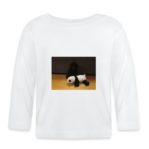 Maggie och pandan - Långärmad T-shirt baby