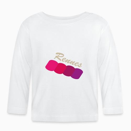 Rennes, fier - T-shirt manches longues Bébé