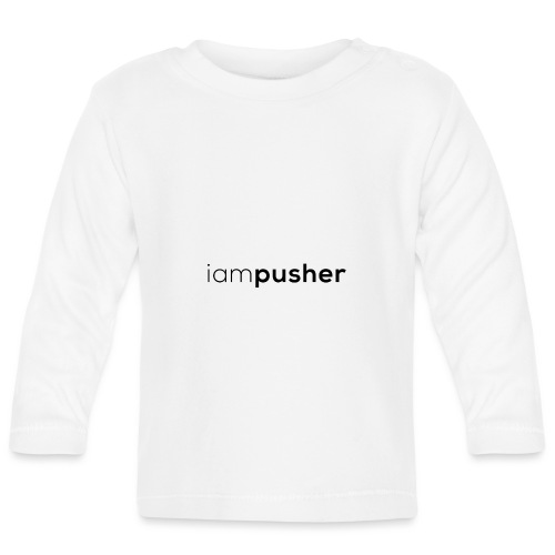 IAMPUSHER - Maglietta a manica lunga per bambini