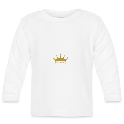 PurposeClothingLTD DEBUT SL - Baby Long Sleeve T-Shirt