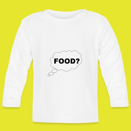 What I am thinking about - Långärmad T-shirt baby