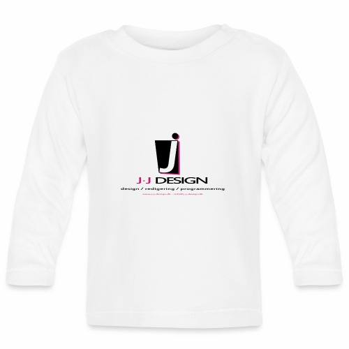 LOGO_J-J_DESIGN_FULL_for_ - Langærmet babyshirt