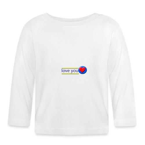 love you - Baby Long Sleeve T-Shirt