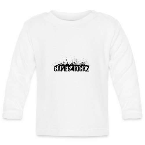 Games4Kickz Logo 002 - Baby Long Sleeve T-Shirt