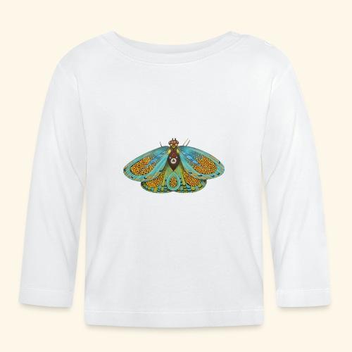 Psychedelic butterfly - Maglietta a manica lunga per bambini