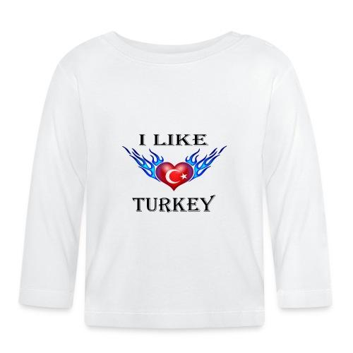 I Like Turkey - Baby Langarmshirt