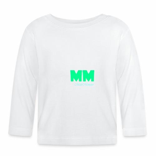MattMonster Signature logo - Baby Long Sleeve T-Shirt