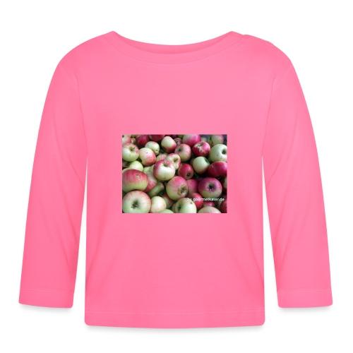 Äpfel - Baby Langarmshirt