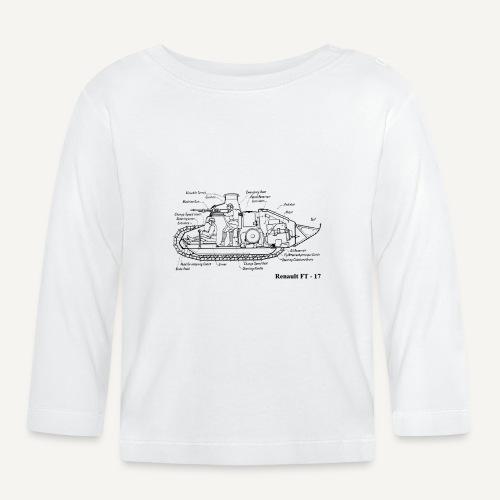 ft17 - Koszulka niemowlęca z długim rękawem