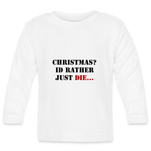 Christmas joy - Baby Long Sleeve T-Shirt