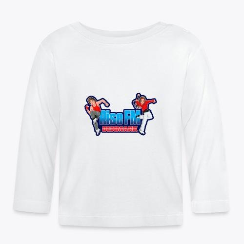Rise FM Denmark Full Logo - Langærmet babyshirt