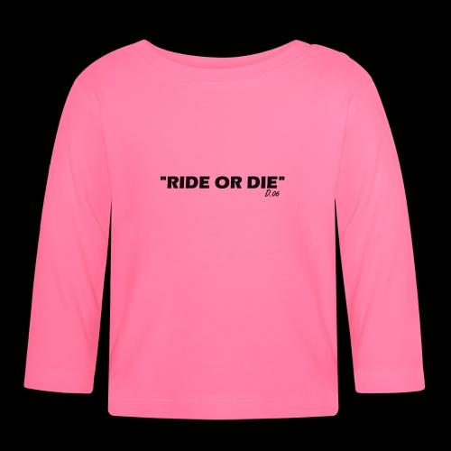 Ride or die (noir) - T-shirt manches longues Bébé