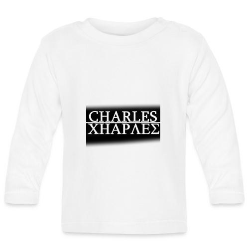 CHARLES CHARLES BLACK AND WHITE - Baby Long Sleeve T-Shirt
