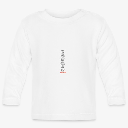 Tom Dan Oliver Joe George - Baby Long Sleeve T-Shirt