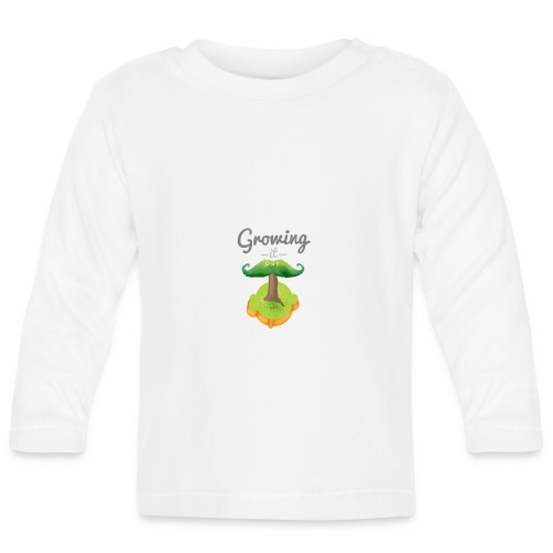 Moustache tree - Baby Long Sleeve T-Shirt