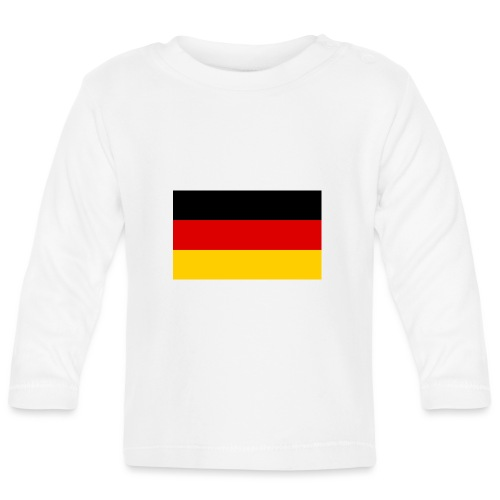 2000px Flag of Germany svg - Baby Langarmshirt
