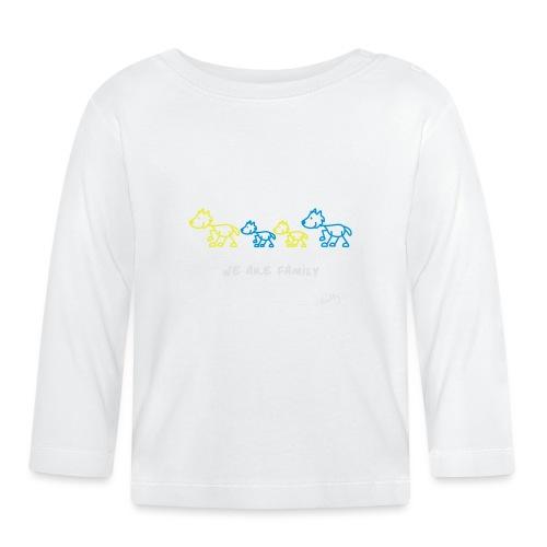 wearefamilybunt - Baby Langarmshirt