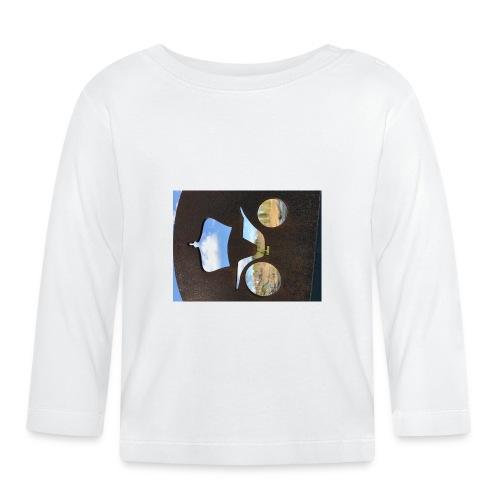 4D4337EC 2CF7 418C 8971 06475B30C3FB - Langarmet baby-T-skjorte