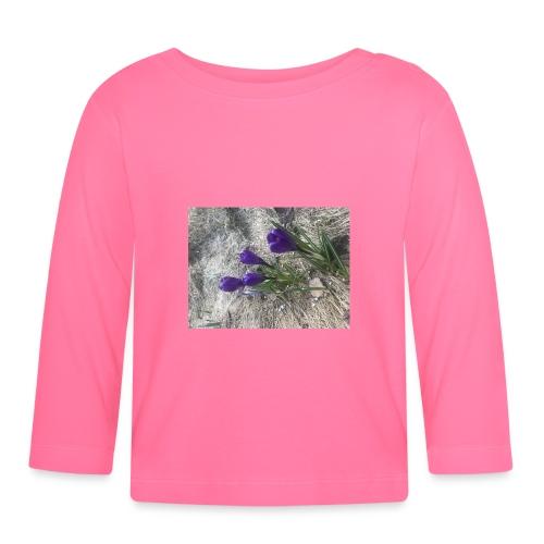8C76D665 0CE4 4F3F 9894 AAFCB77B39B9 - Langarmet baby-T-skjorte