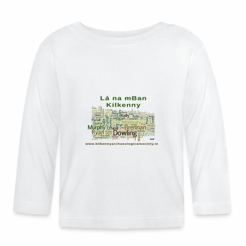 Lá na mban Kilkenny Wordle - Baby Long Sleeve T-Shirt