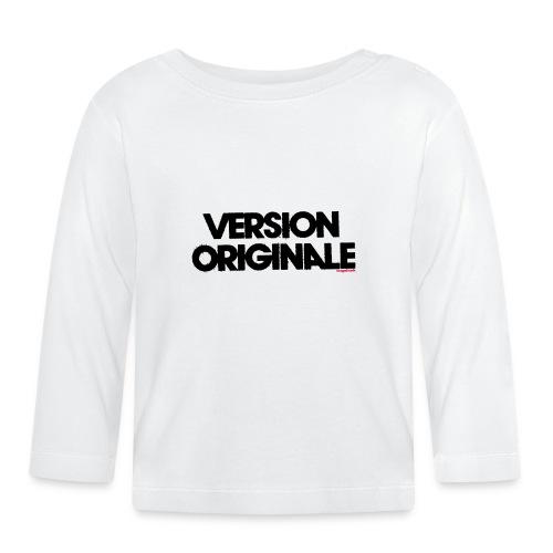 Version Original - T-shirt manches longues Bébé