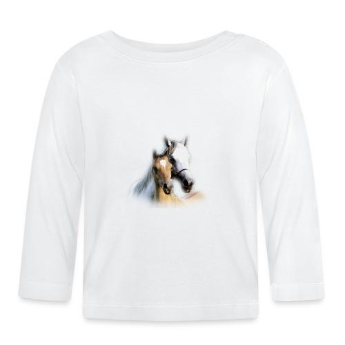 cheval - T-shirt manches longues Bébé