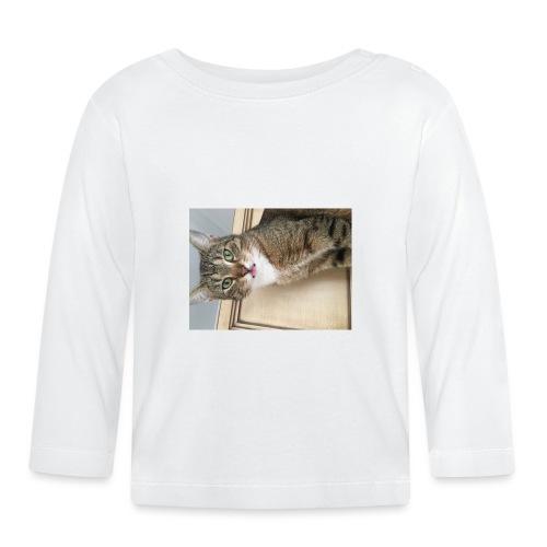 Kotek - Koszulka niemowlęca z długim rękawem