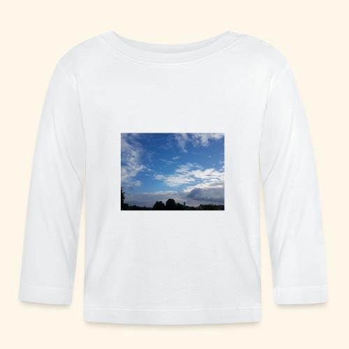 himmlisches Wolkenbild - Baby Langarmshirt