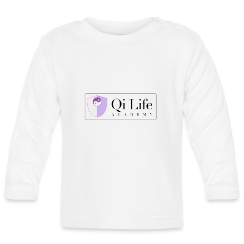 Qi Life Academy Promo Gear - Baby Long Sleeve T-Shirt